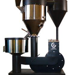 Tostador de café de aire caliente – instalación